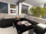Стилен интериор в черно и бяло